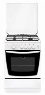 Газовая плита GEFEST 1200 С6 (цвет-белый, эмаль, эл/розжиг, газ-контроль, духовка)